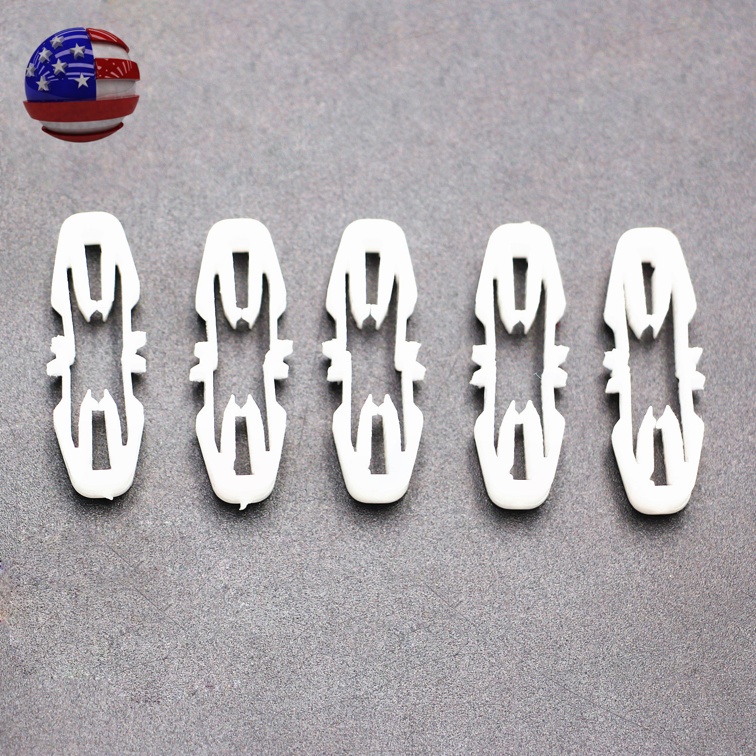 10pcs 2005-2009 Chevrolet Equinox Front Grille Moulding Clips for GM OE