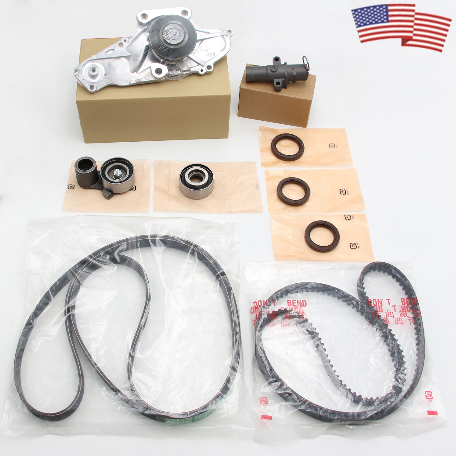 OEM Timing Belt Kit With Water Pump Fit For HONDA Acura